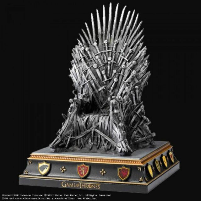 Game Of Thrones - repasser Trône serre-livre The Noble collection officiel
