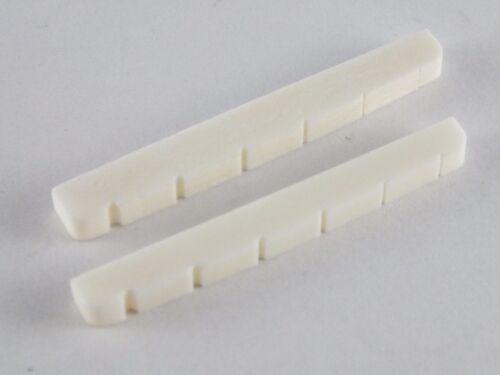 Flachboden Knochen Sattel 42mm Oder 43mm Für STRATOCASTER TELECASTER Gitarren