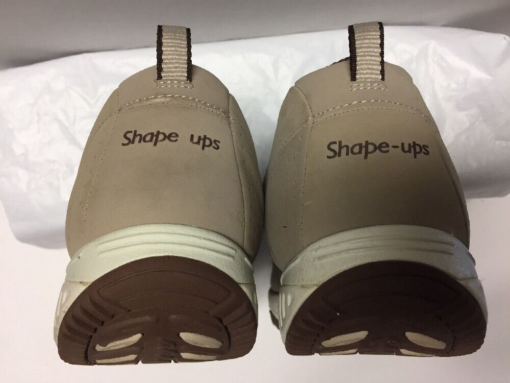Skechers Beige Taupe Shape Ups Walking Schuhes Athletic Damenschuhe Sneakers Schuhes Walking 9 A035 197385