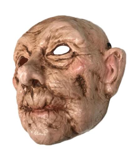 LADY in plastica Uomo Anziano Maschera NONNA Nonna Nonno OAP Costume