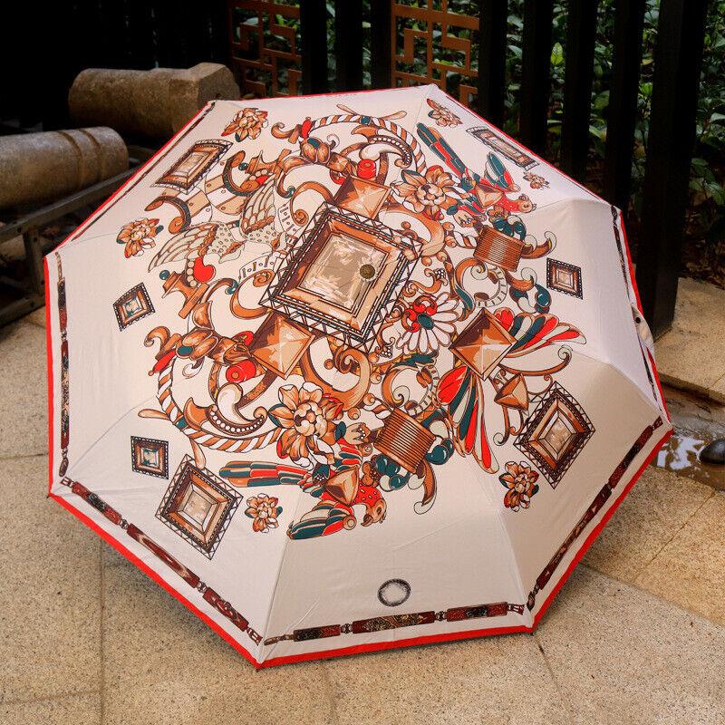 Umbrella Versace Gianni Vintage Authentic Folding Rain Protection Accessory Lot