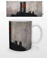 TOWERS 11 OZ COFFEE MUG TEA CUP BANKSY STREET ART GRAFFITI DECOR SOCIAL USA NY!