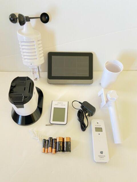 La Crosse Technology C83100-INT WiFi Professional Weather Station, Black  READ!!