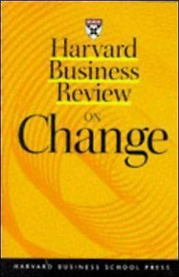 Harvard Business Review  on Change by Harvard Business Review (Paperback, 1998)