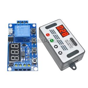 DC 12V DDC-431 Timer Delay Relay Switch Digital LED Display Delay Controller r