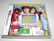 High School Musical 2 Work This Out Nintendo DS 2DS 3DS Game Preloved *Complete*