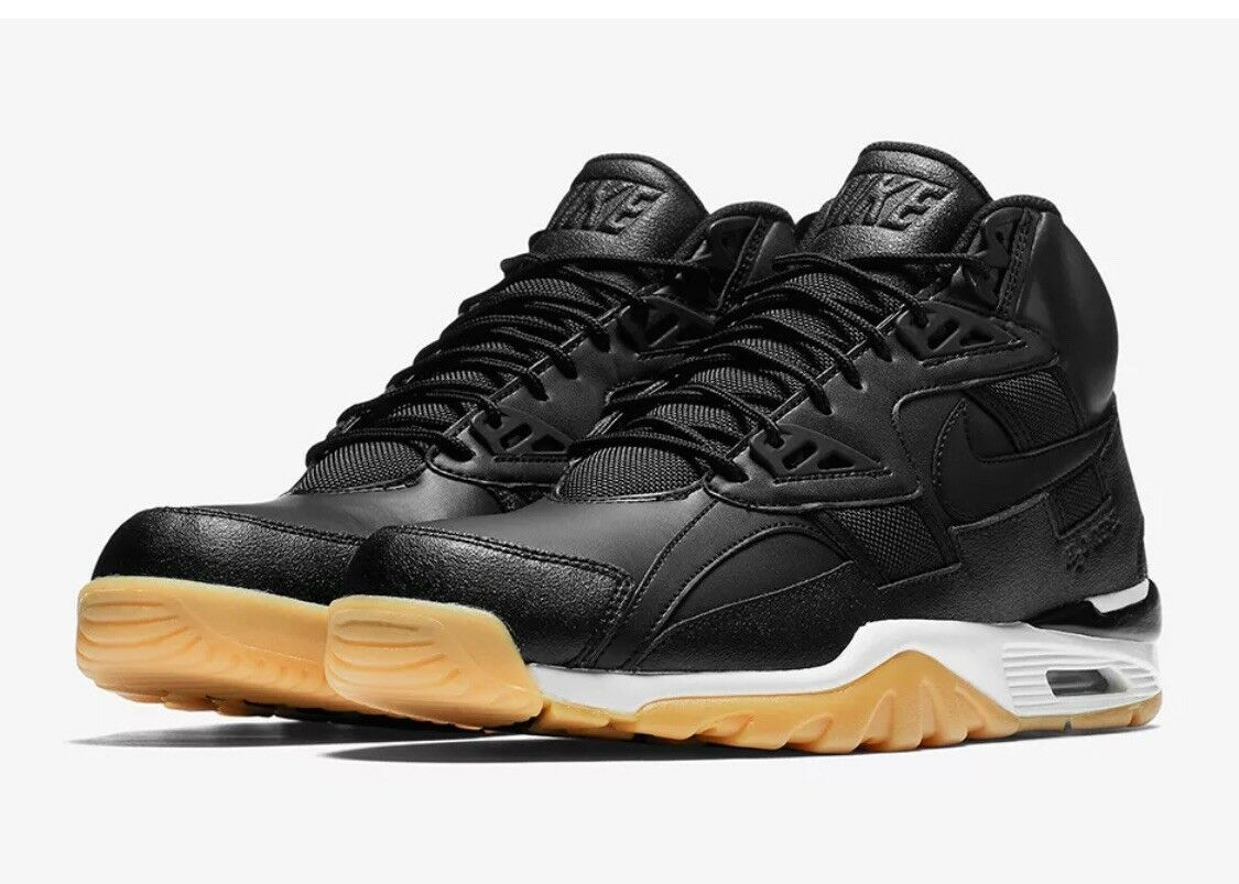 Nike Air Trainer SC Winter Black Sail Size 9 - AA1120 001 Free fast shipping
