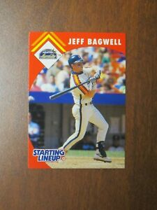 Jeff Bagwell 1995 Kenner Starting Lineup Card - Houston Astros