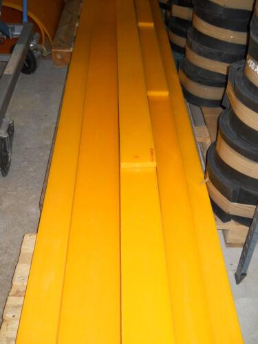 Schürfleiste PUR PU Polyurethan Schneeräumleiste für Schneeschild Breite 40 cm