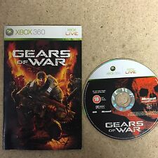 * XBOX 360 UK Game * GEARS OF WAR * NO SLEEVE