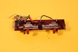 REVOX A77 Reel 4 Tracks Parts Repair 1.077.480 - 01 Meter Print Board Button VU