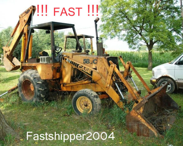 case 580e 580 super e tractor loader backhoe parts catalog manual download