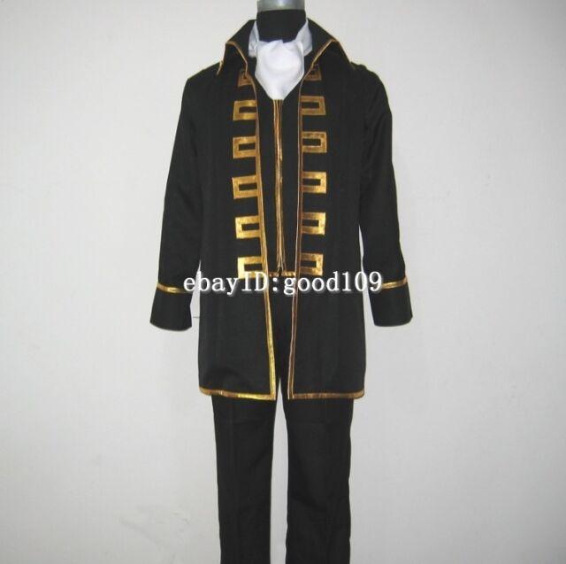 Gintama Shinsengumi Okita Sougo Hijikata Toushirou Cosplay Costume Track No