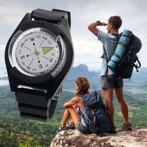 Portable Wrist Compass Outdoor Camping Survival Tool Military Tactical Compass E