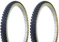 Duro 24x2.10 Gum Wall Mountain Bicycle Tires with Two 2 Duro tubes TWO 2