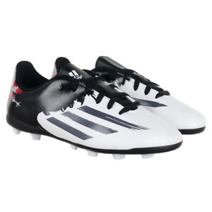 premium selection f21a3 9e7cf Image is loading Adidas-Messi-10-4-FxG-Juniors-Moulded-Studs-