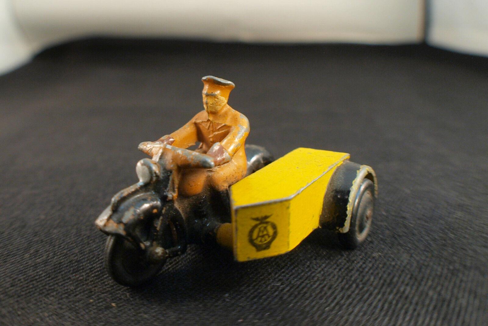 Dinky Toys GB GB GB n° 44B Side-car AA  Motocycliste Moto 3e68f6