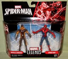 "SHOCKER & SPIDER-MAN Marvel Legends 3.75"" Figures 2-pack Spider-Man Homecoming"