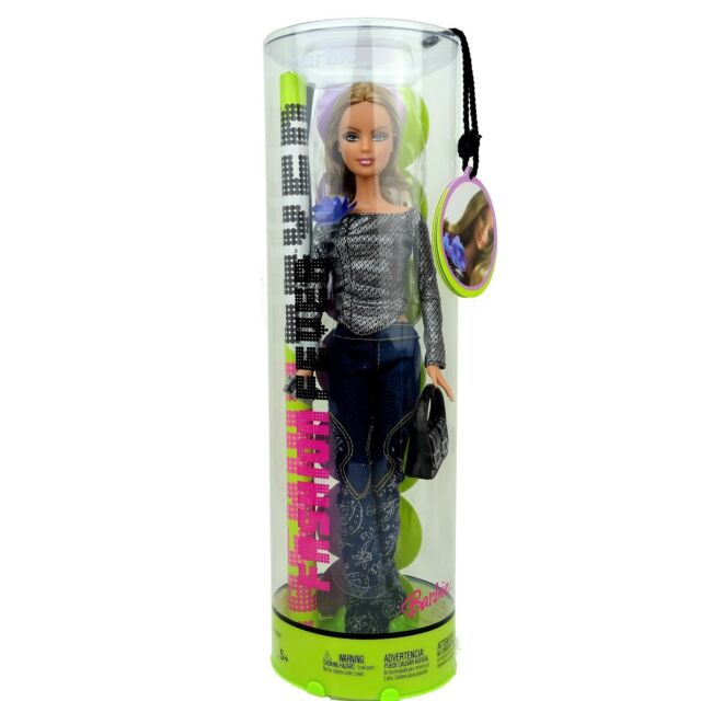 Barbie Fashion Fever Doll H0867 New in Box 2005