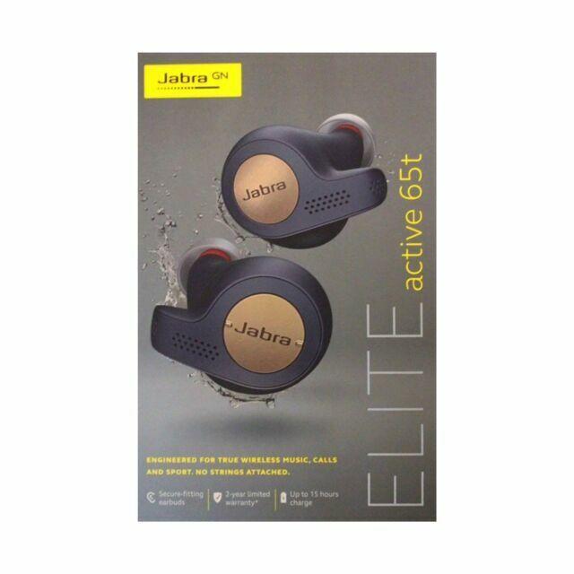 Jabra Elite Active 65t 100 99010000 60 Wireless Headphones Copper Blue For Sale Online Ebay