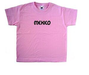 Messico testo ROSA KIDS T-SHIRT  </span>