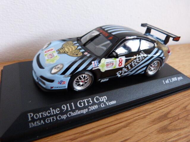 Porsche 911 997 GT3 Cup IMSA CHALLENGE 2009 Vento MINICHAMPS MODEL CAR 1 43