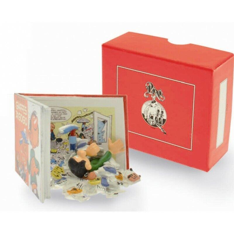 Figurine Gaffes à gogo GASTON LAGAFFE Pixi 05665 Echappées Bulles