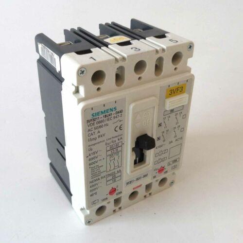 Siemens rendimiento interruptor 3vf3211-1bu41-0aa0 debemos encontrarle
