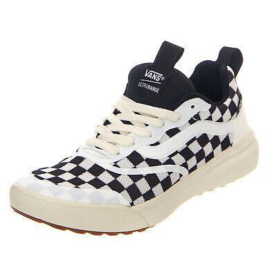 Vans Ua Ultrarange Rapidweld CheckerboardMarshmallowBlack Sneakers Basse Uomo | eBay