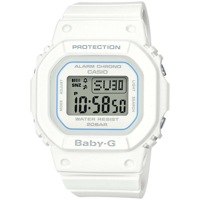 24f26073911f6 Casio Baby G Women s Watch White 44.7mm Resin Bgd560-7 for sale ...