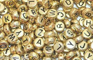 500-unidades-plano-redondo-dorado-variado-alfabeto-cuentas-de-acrilico-7mm