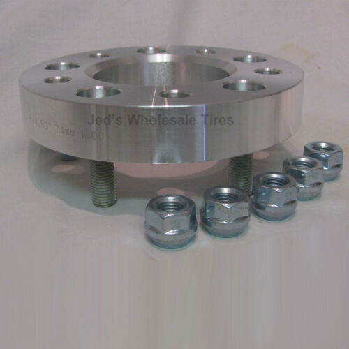 """5//4.5 Wheel SPACERS kit fits Trailer Go Karts Garden Tractor Lawn Mower 1/"""" thick"""