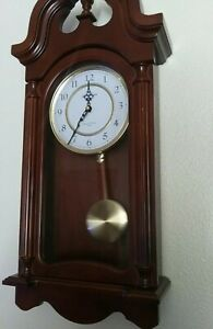 Large Seth Thomas Wall Chime Clock No 1504 Westminster