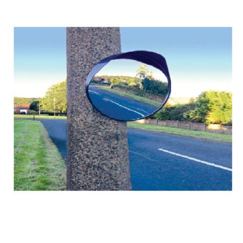 "12/"" Inch 30CM Convex Safety Mirror Traffic Driveway Shop Safety /& Security Black"