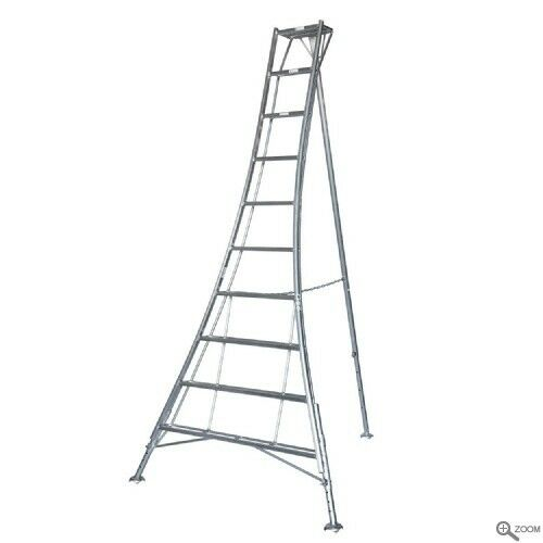 Ideal For Fruit Picking 1.2m 4.8m Workware Aluminium Tripod Ladders