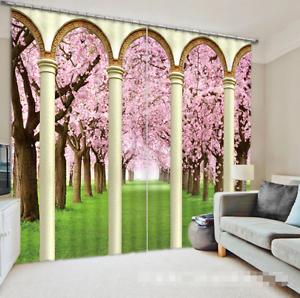 3D Flor césped Blockout impresión de fotografías Cortina Cortinas De Tela Cortinas Ventana au