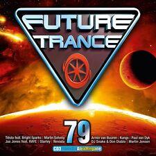 FUTURE TRANCE 79 (ALAN WALKER, TIESTO, MARTIN SOLVEIG,...)  3 CD NEW+