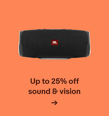 Up to 25% off sound & vision