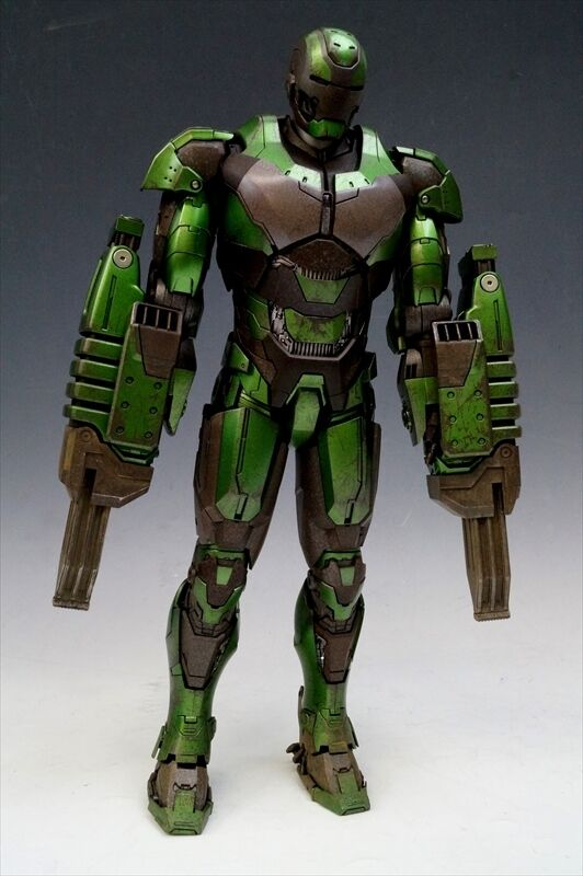 HOT TOYS MMS332 Iron Man 3 Iron Man Mark 26 gamma