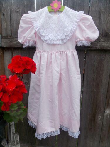 Vintage Jayne Copeland Pink Modest Puff Sleeves Bi