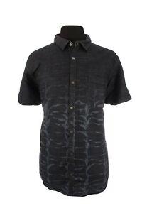 NWT-INC-International-Concepts-Mens-Denim-Snap-Button-Up-Shirt-Blue-Sz-XXL-2XL