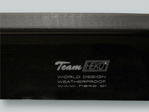 HEKO Wind Deflectors Rain Guards 4pcs Set fits 1998-2000 VOLVO S70 V70