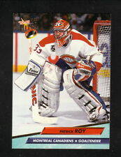 Patrick Roy--1992-93 Fleer Ultra--Montreal Canadiens