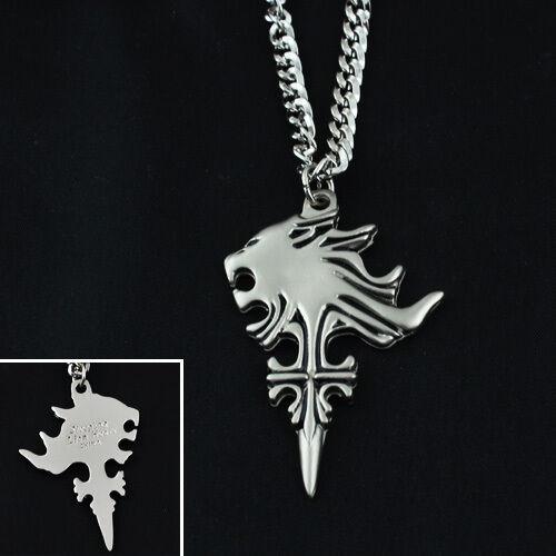 Final fantasy viii ff8 sleeping lion head pendant metal necklace new final fantasy viii ff8 sleeping lion head pendant metal necklace cosplay mozeypictures Images