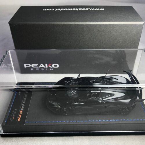 1//43 Scale Peako Model McLaren P1 GTR Gloss Black