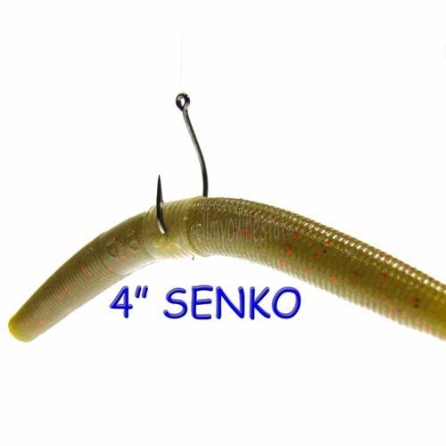 300 pc Refill Kit 5//16 1//4 3//16 Wacky Worm Neko Rig Silicone Tube Senko Saver