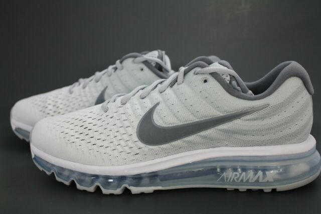 Nike Air Max 2017 US 10 Men's Running Shoes WhiteWolf