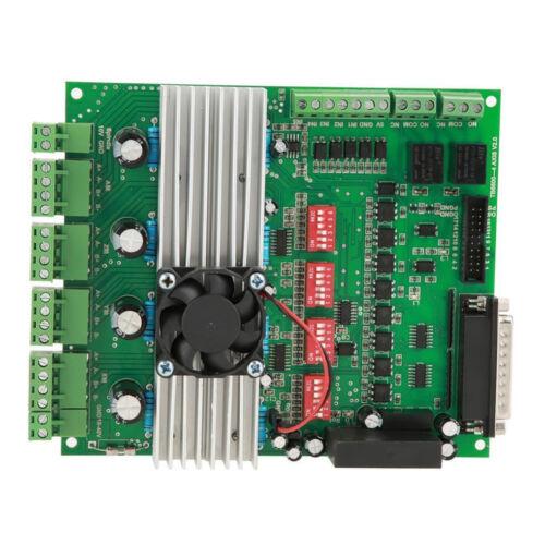 New 4 Axis TB6600 CNC Controller Max Current 5A 36V Stepper Motor Driver Board