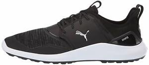 Puma-Mens-192225-Fabric-Low-Top-Lace-Up-Running-Sneaker-Black-Size-12-0-rIM6