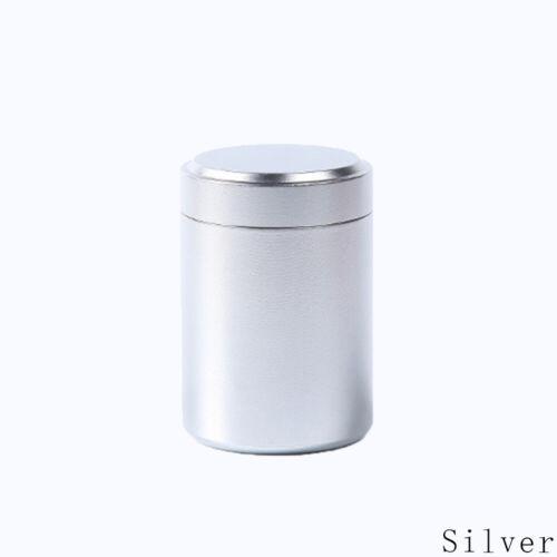 wasserdicht herb stoff glas versiegelte behälter tee box mini metall.